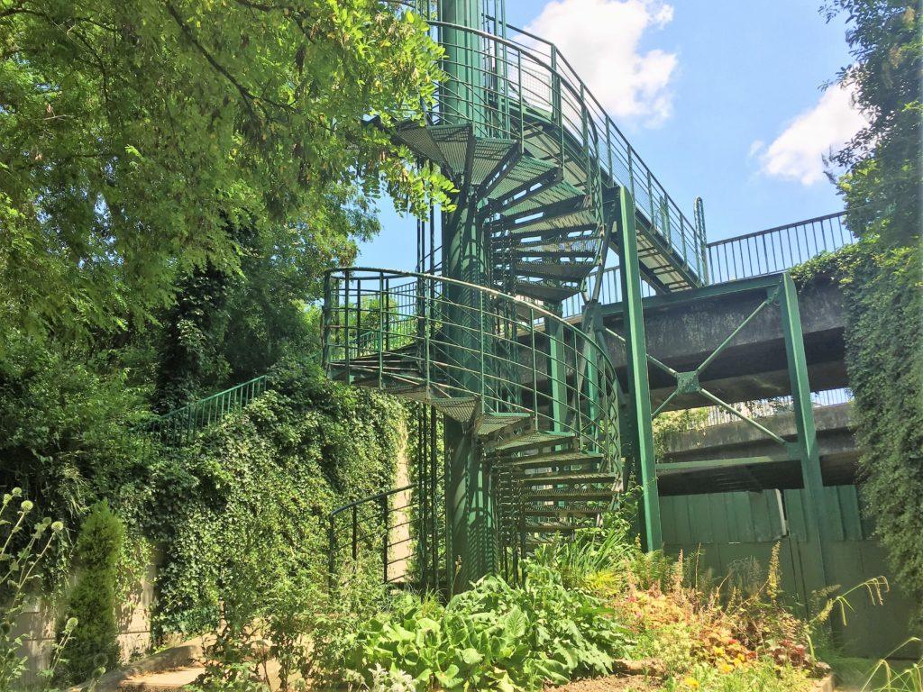 プロムナード・プランテの螺旋階段