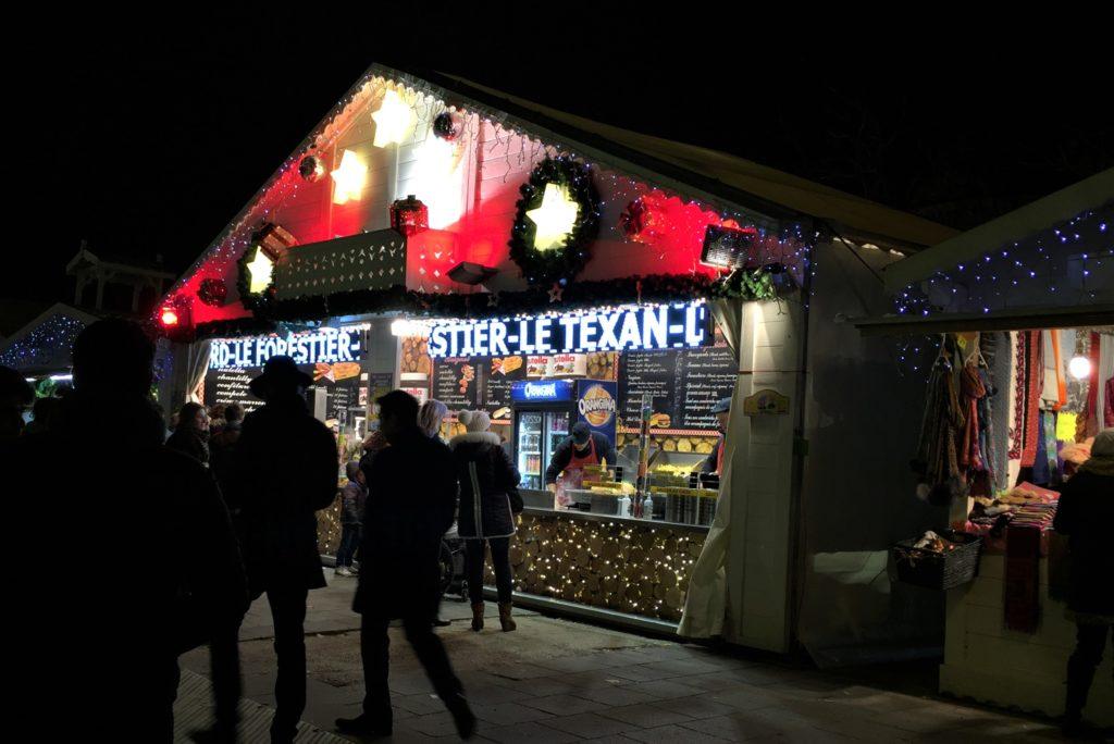 シャンゼリゼのクリスマスマーケット