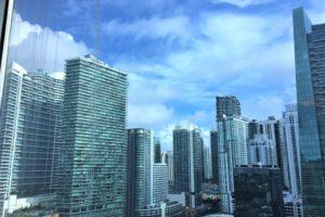 フォーシーズンス・ホテル・マイアミの客室からの眺め